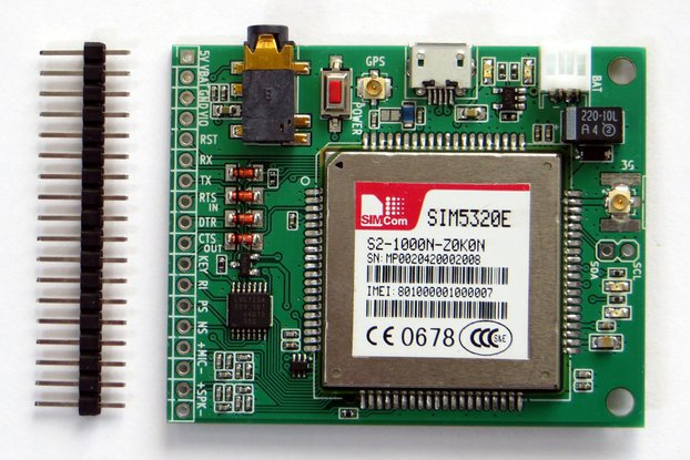 3G/GPS SIM5320(E/A) breakout board
