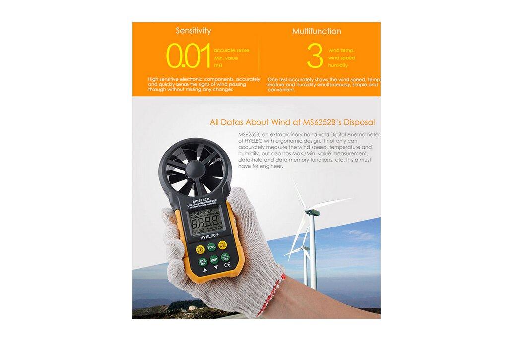 Multi. Digital Anemometer/Tachometer  7
