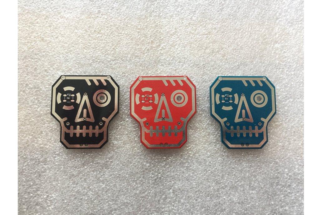 RoboSkull Badge aka Terminator Badge 5