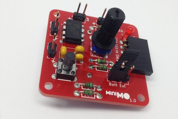 miniMO synth module - Assembled