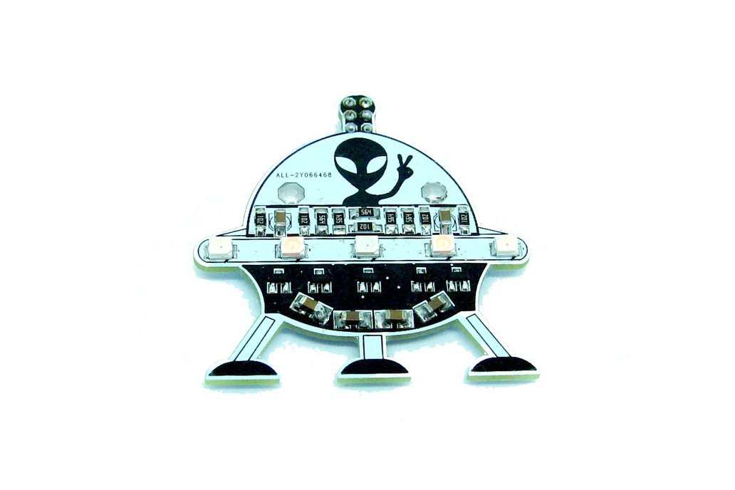UFO Alien - LED learn to solder kit 1