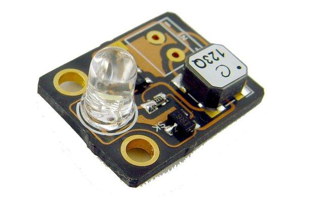 40mV module for body heat powered white LED