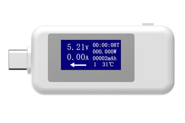 DC 4-30V USB Voltage Current Meter (GY19117)