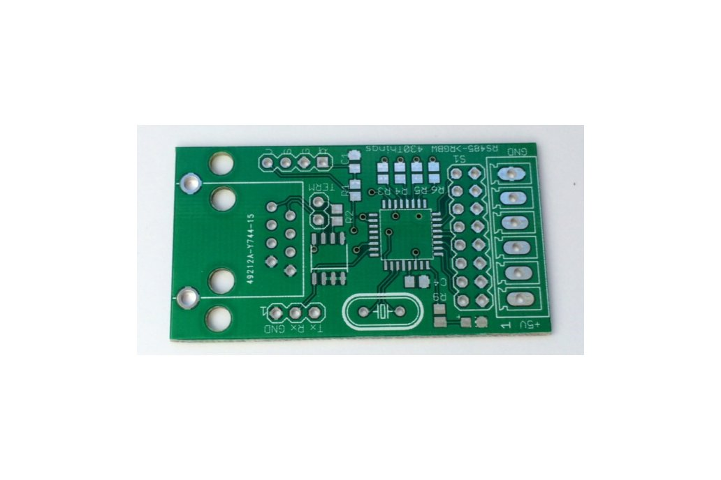 DMX decoder - RGBW LED or pixel controller PCB (set of 3) 3