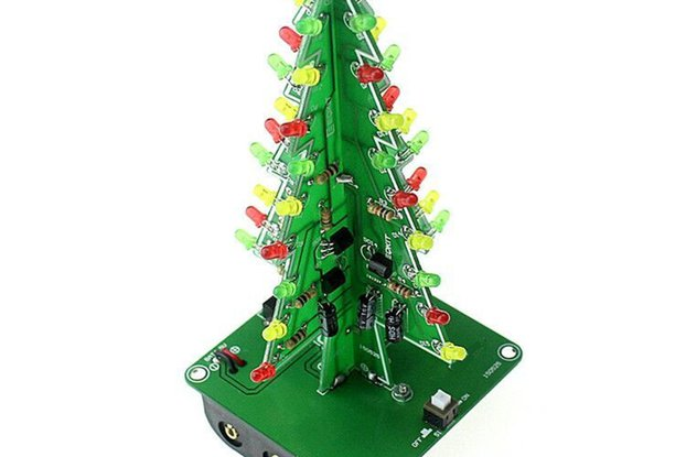 Christmas Tree LED DIY Kit