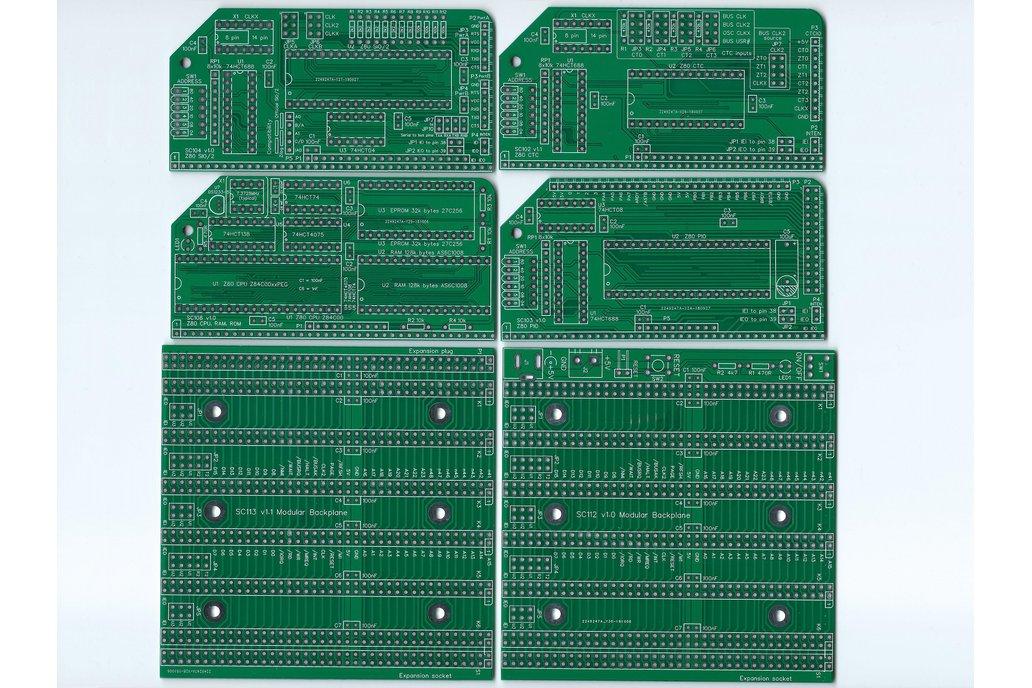SC202 Boards for a flexible Z80 computer 1