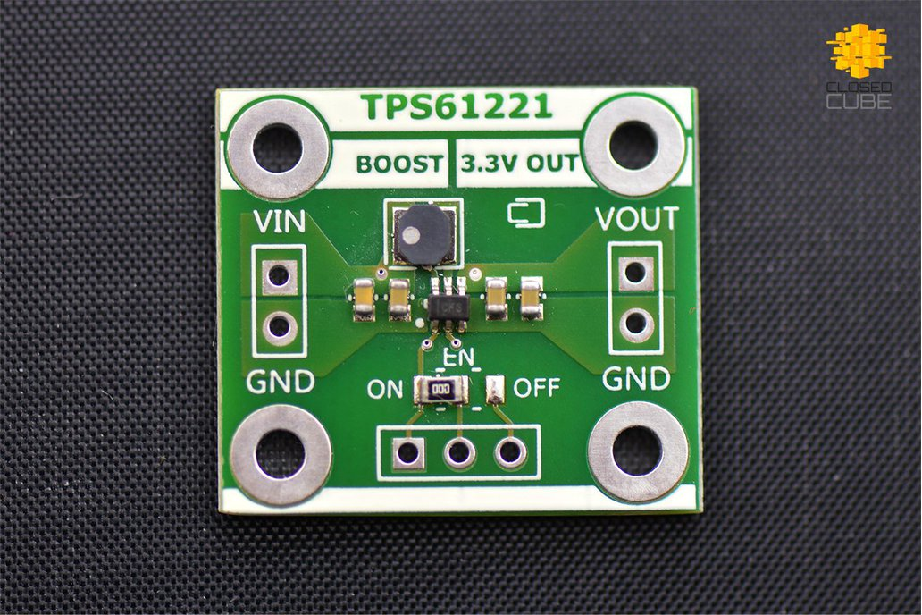 TPS61221 Low Input (from 0.7V) Boost 3.3V Breakout 1