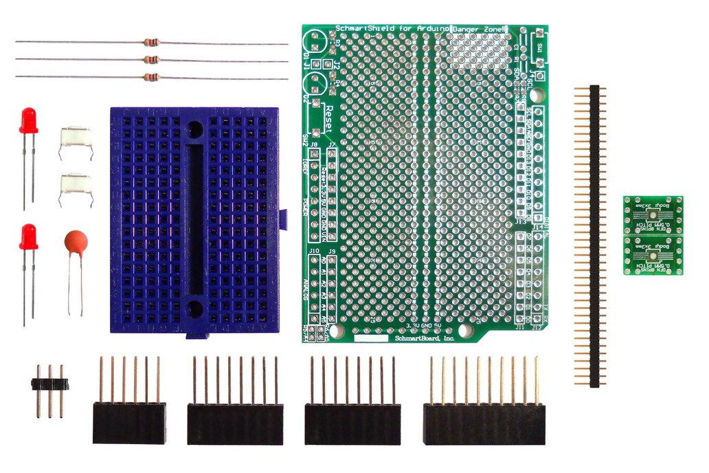 SchmartBoard|ez .5mm Pitch DFN to DIP (8 or 10pin) 1