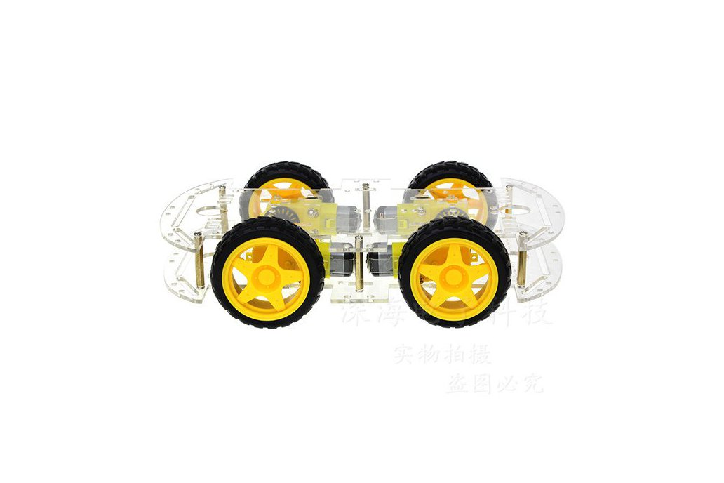4WD Smart Robot Car Chassis Kit 1
