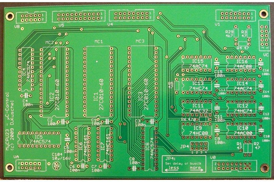 MyCPU - Set of Blank Printed Circuit Boards
