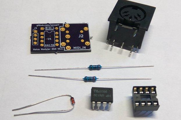 Volca Modular MIDI IN Mod (Kit)