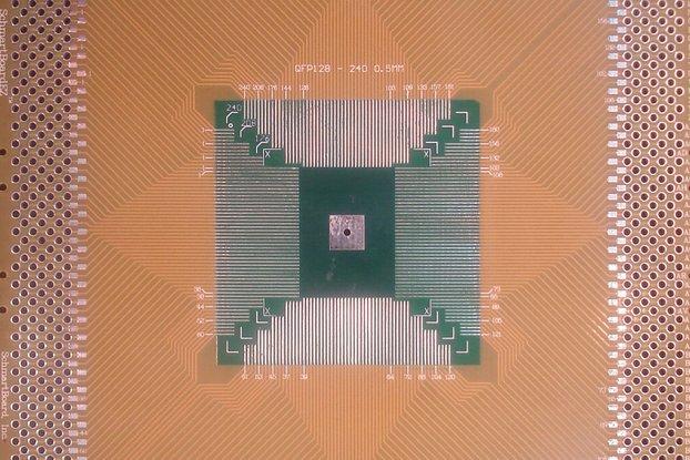 """QFP 4""""x4"""" Grid EZ Version PCB (Choose your size!)"""