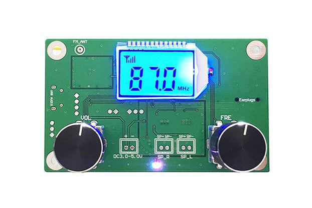 LCD Digital FM Stereo Radio Receiver Module(10545)