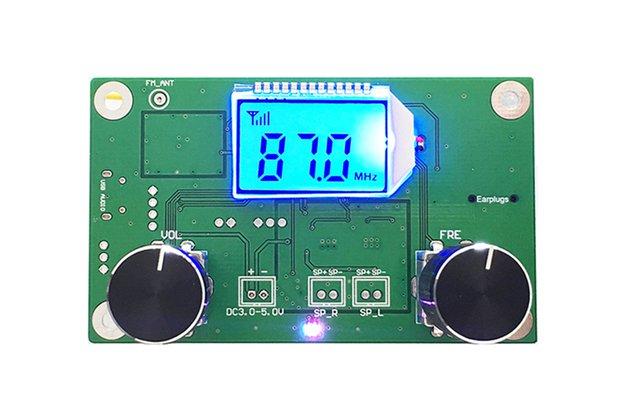 LCD Digital FM Stereo Radio Receiver Module(10545)