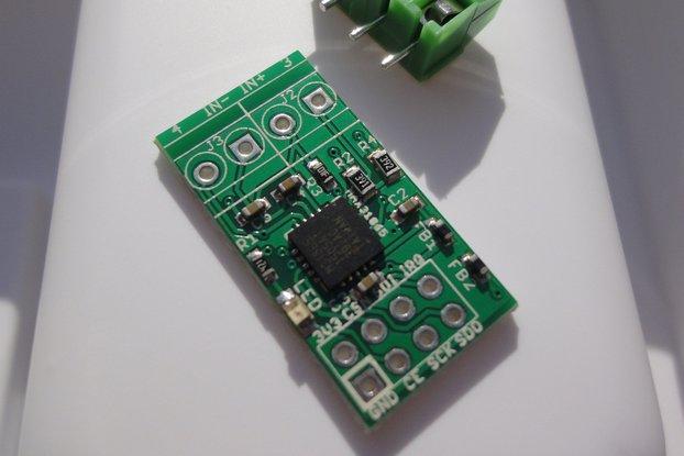 MAX31865 RTD temperature sensor breakout board