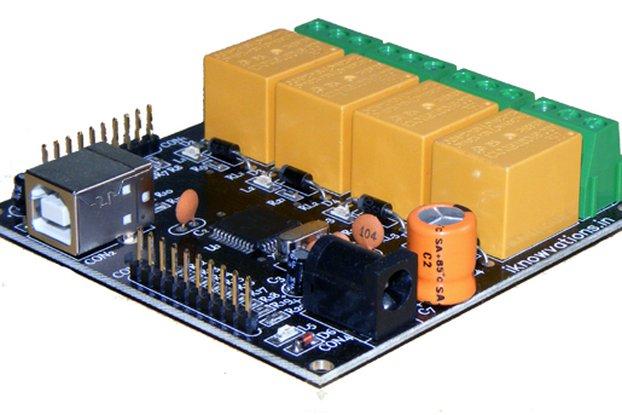 U452 USB based Relay & DAQ card