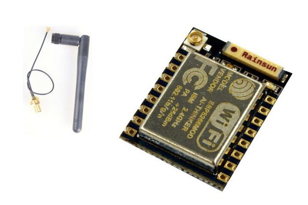 ESP8266 ESP-07 WiFi Module - Onboard & SMA ANTENNA
