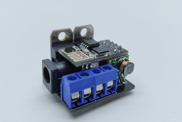 2 channel WiFi 12/24v PWM controller (ESP-01)