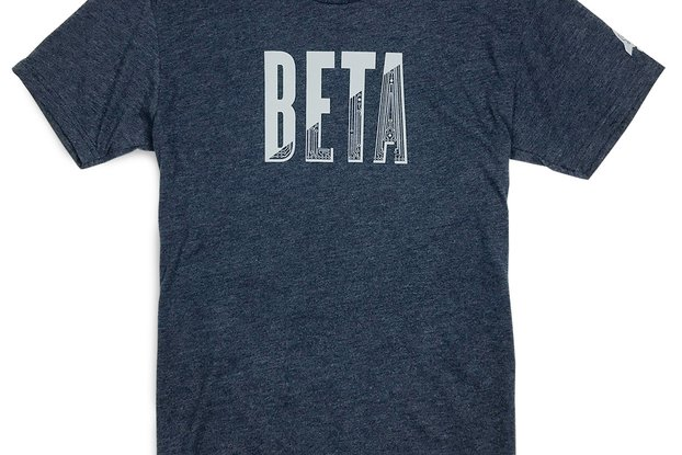 IN BETA Graphic Tee for Engineers & Entrepreneurs