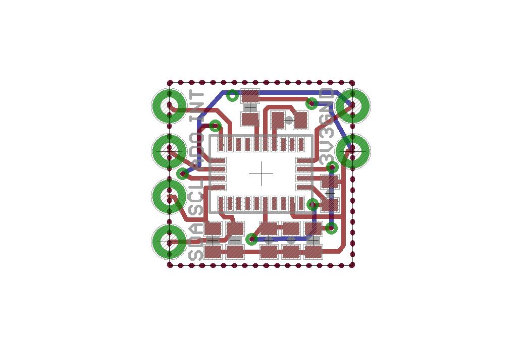 Wearable BNO055 Nano Board 2
