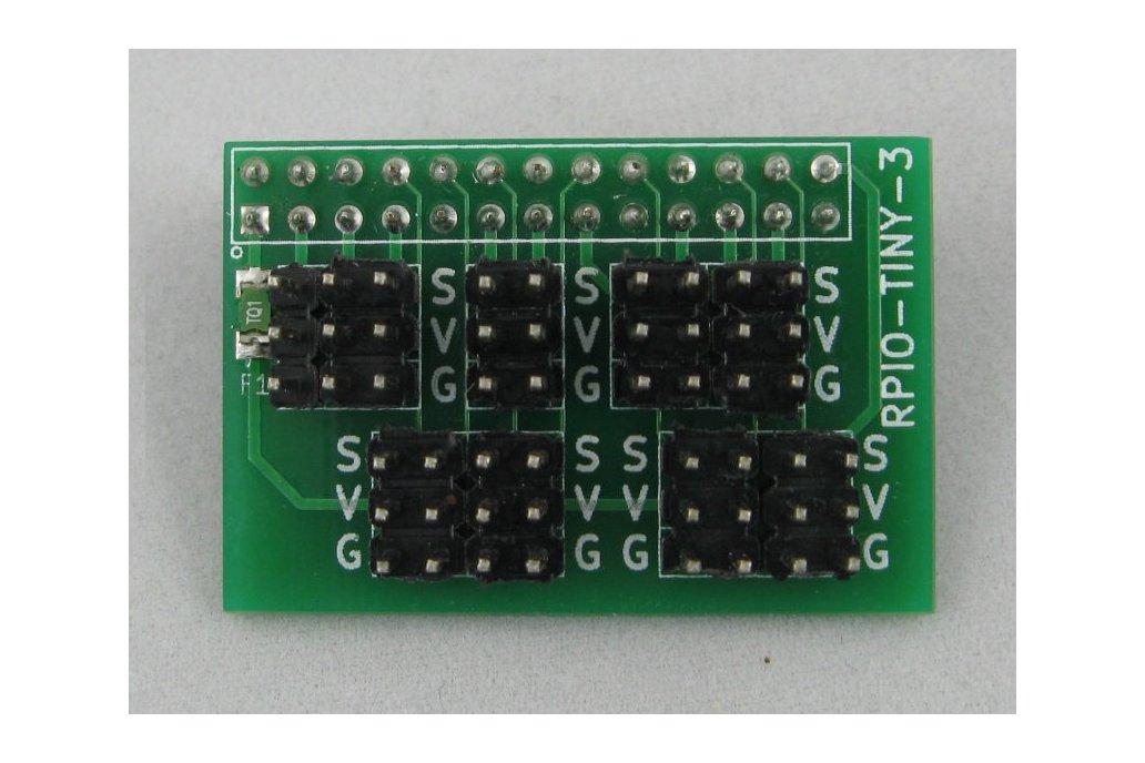 Raspberry Pi GVS I/O Card (RPIO-TINY-3) 1