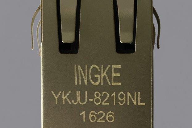 6605759-1 YKJU-8219NL Magnetic Modular RJ45 Jacks