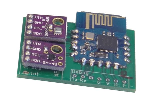 nRF52 Mesh Sensor Node