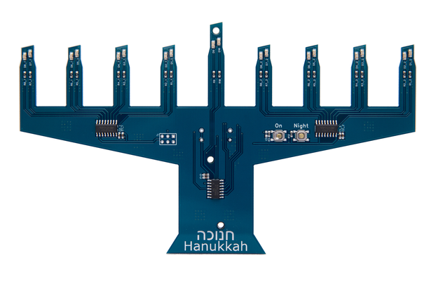 Electronic Menorah Model II -- KIT