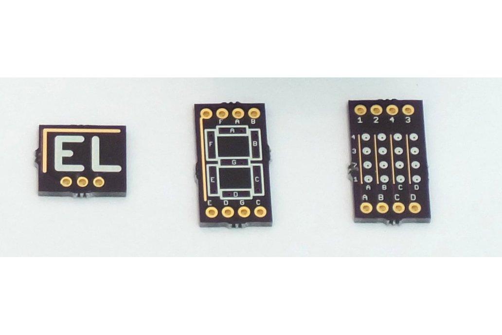 EL Display on PCB Demo Boards 1