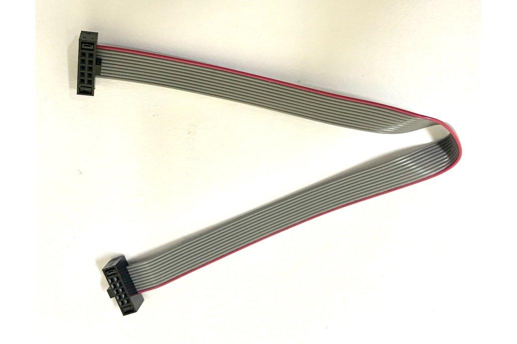 10-pin 2x5 Socket-Socket 1.27mm IDC (SWD) Cable 1