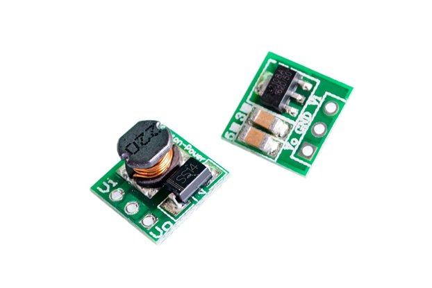 3-Pack Voltage Booster 1.5-4.2 to 5V