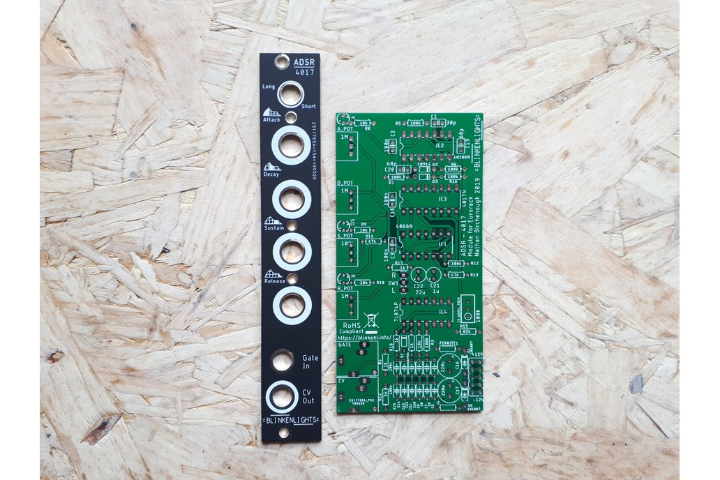 ADSR Blinkenlights Envelope Generator for Eurorack 1