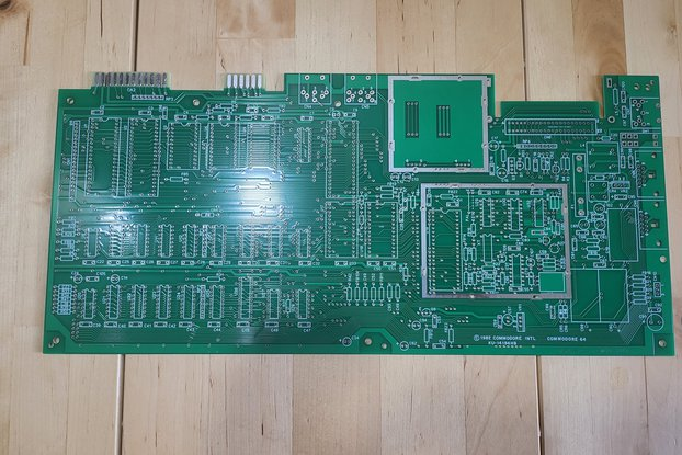 Replica PCBs for Commodore 64