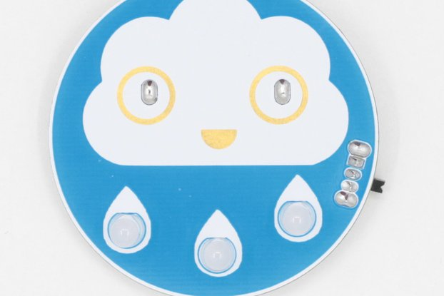 Happy Rain Cloud Soldering Kit