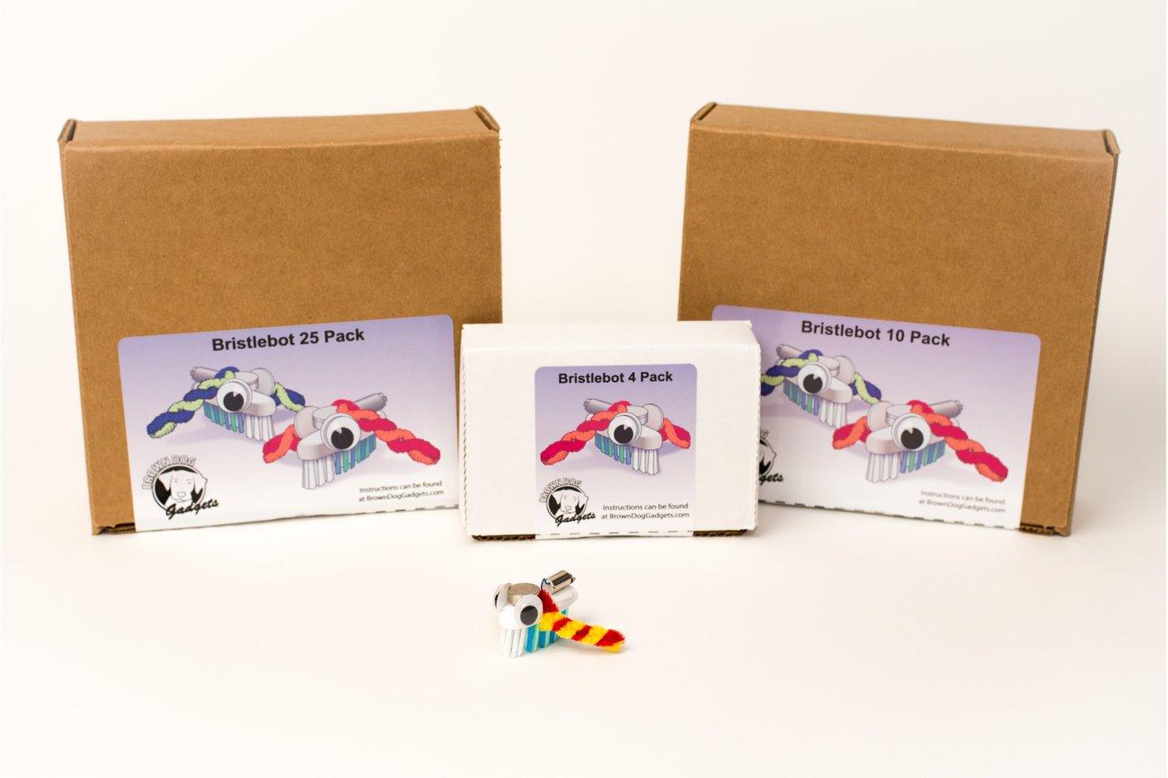 Bristlebot Kits - 10 and 25 Packs (Classroom Set)