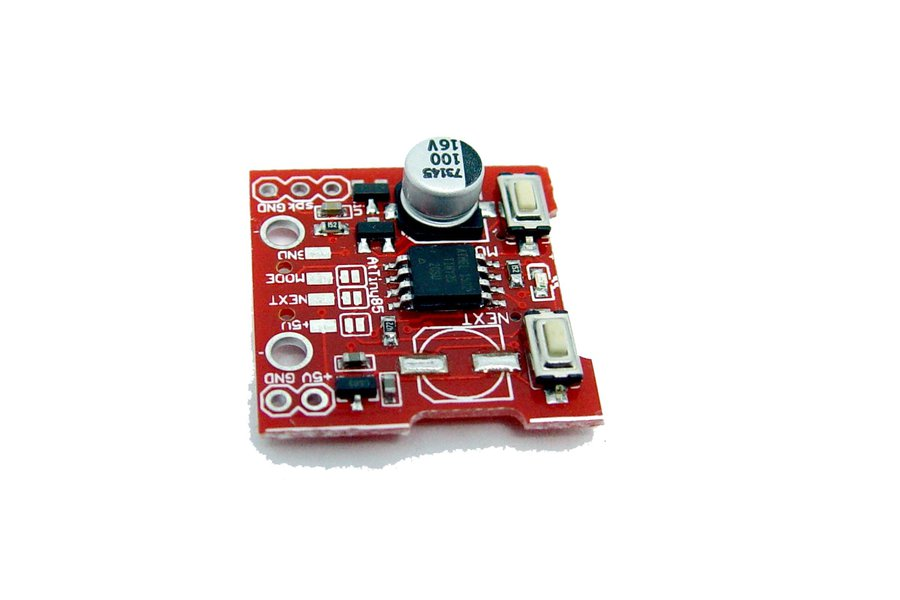 micro SD card Wav player AVR AtTiny85