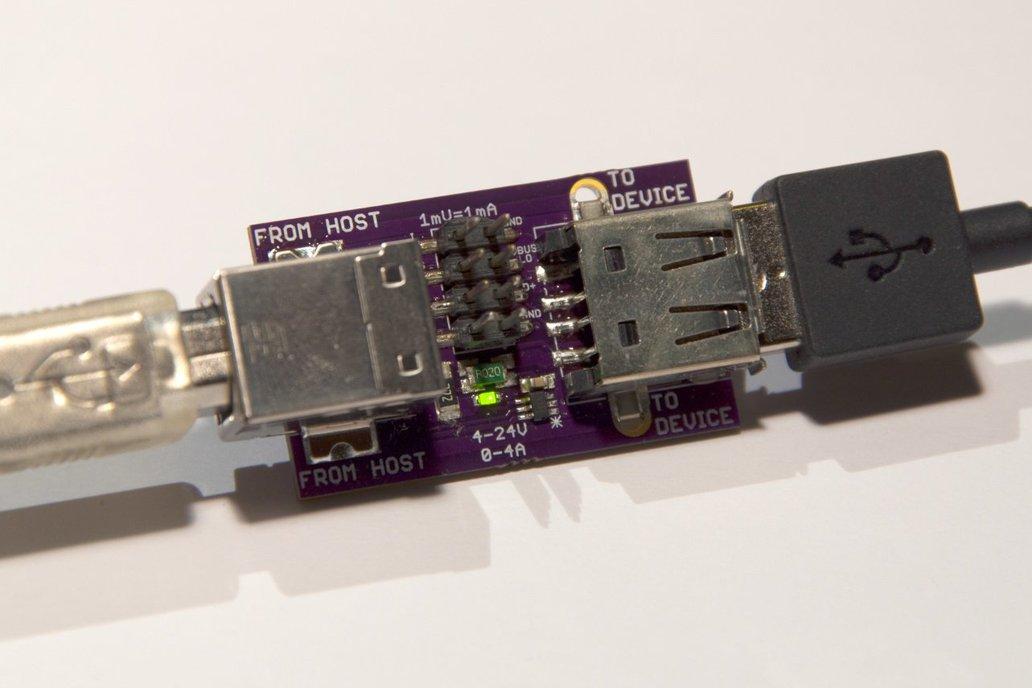 USBuddy: USB development tool 1