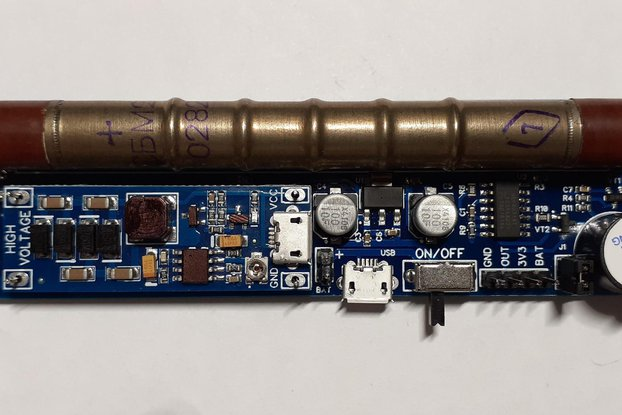 GGreg20_V1 Set 1 - ionizing radiation detector