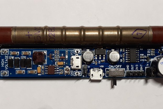 GGreg20_V1 Radiation Detector Pulse Out + GM-tube