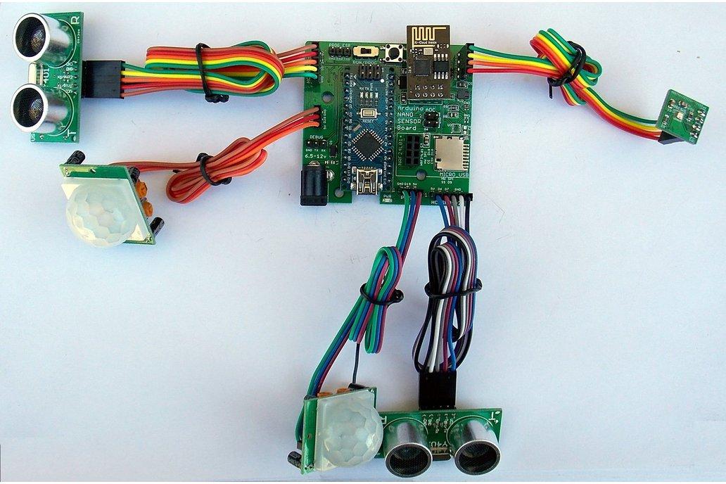 Wireless Multi-Sensor Board for IoT/Smart-Home 1