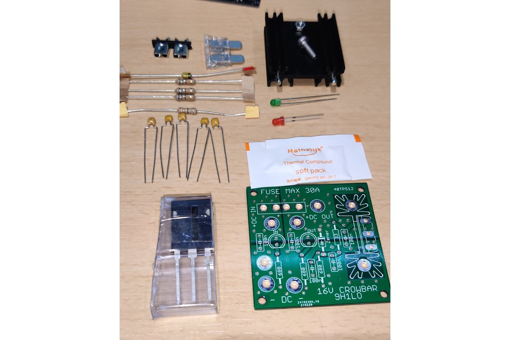 Crowbar Protection for Ham Transceivers Kit 1