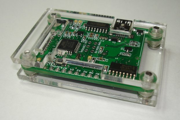 """ATMega328p with onboard 1.54"""" high res TFT display"""