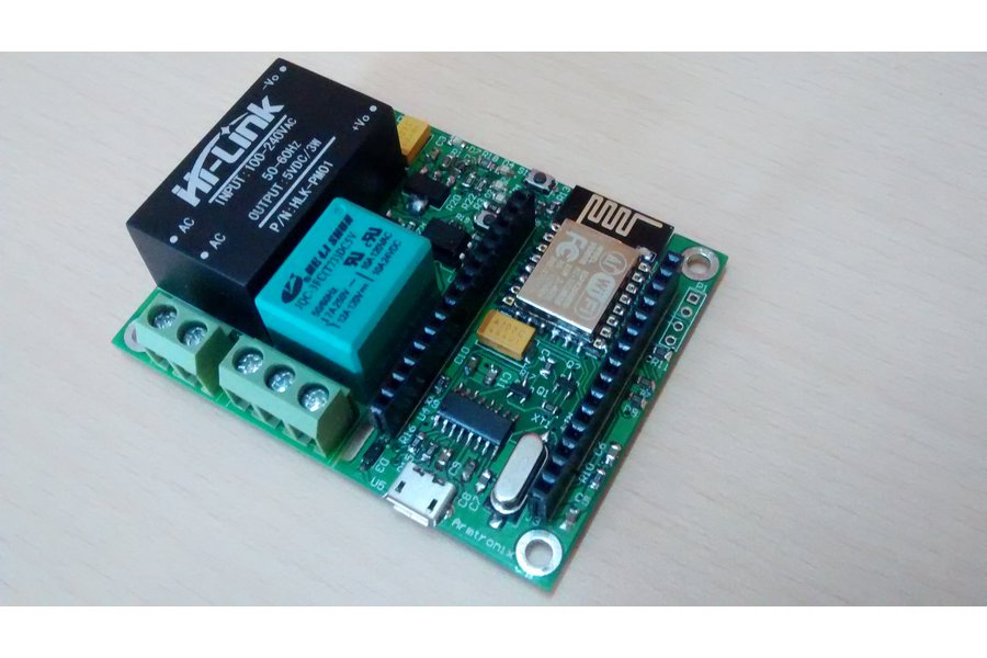 Wifi Esp8266 Smart Switch with Single Relay Board