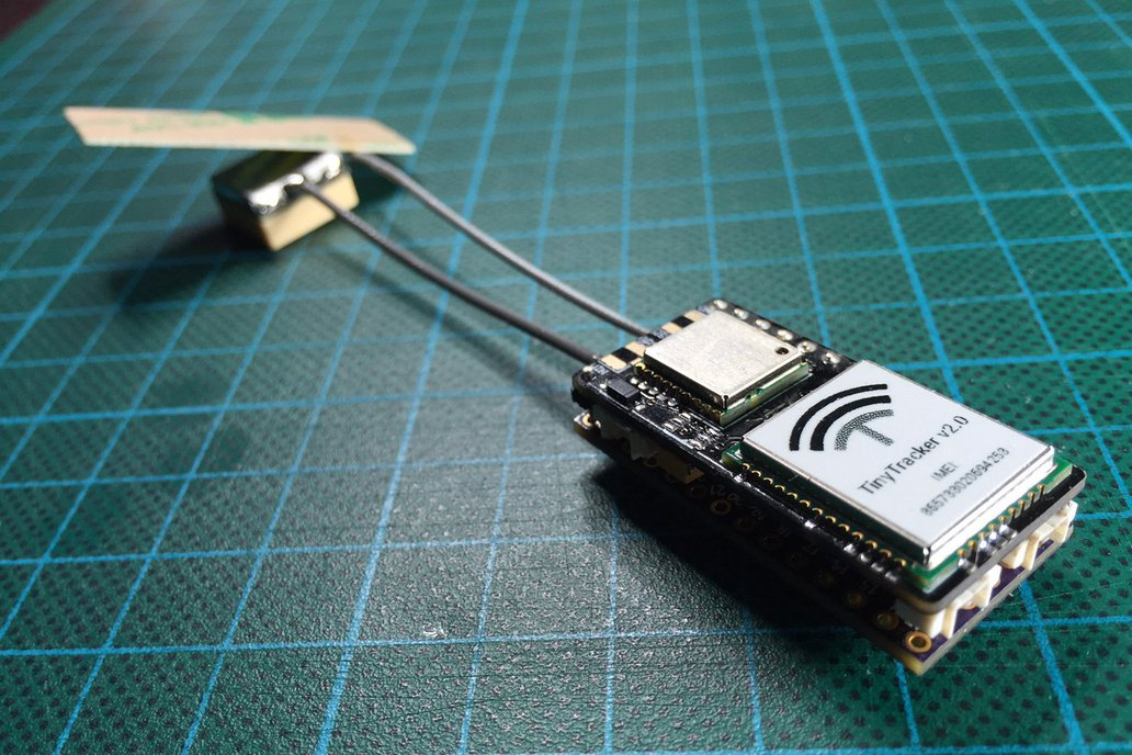 TinyTracker GPS/GSM/CAN for Teensy 3.1/3.2 2