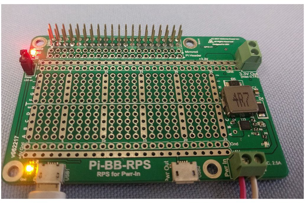 Pi-BB-RPS: DC-DC converter, RPS and more for Pi 9