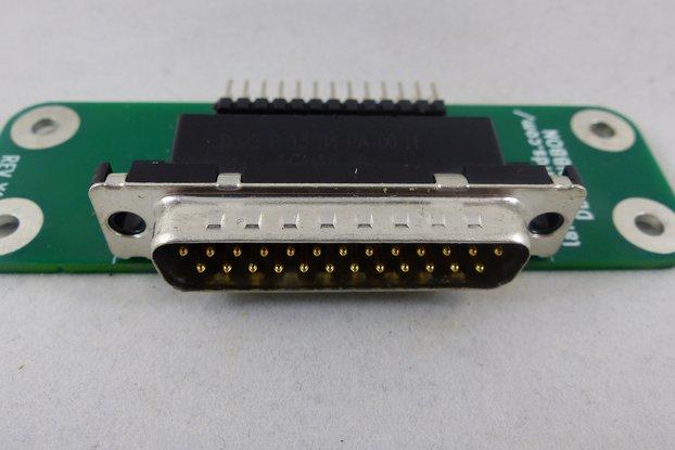 DB-25 to Ribbon Cable Adapter Card