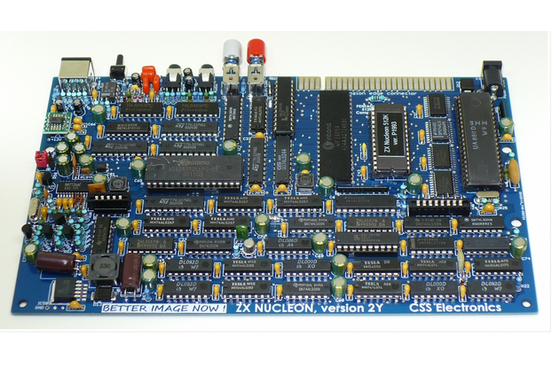 ZX NUCLEON 512KB - clone Pentagon 128/512KB