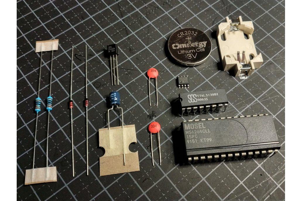 SNES Repro, Components 1