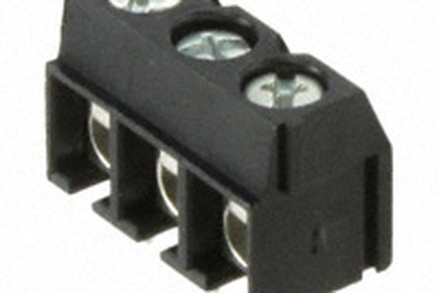 TERM BLOCK PCB 3POS 5.08MM BLACK