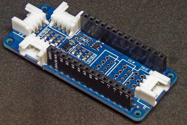 Polymorphic I2C Shield for Arduino MKR